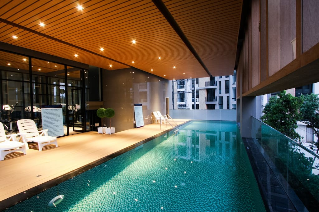 Luxury private swimming pool on the second floor