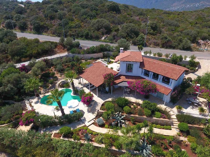 Villa Liza designer house in Kas/Peninsula