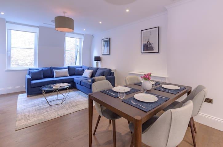 Modern, Luxurious 1BR Flat- Heart of Covent Garden