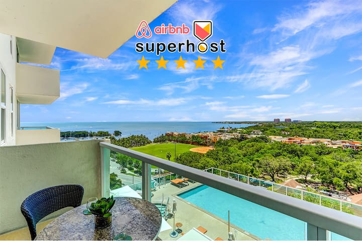 100413 Gorgeous Bay View Unit in Coconut Grove