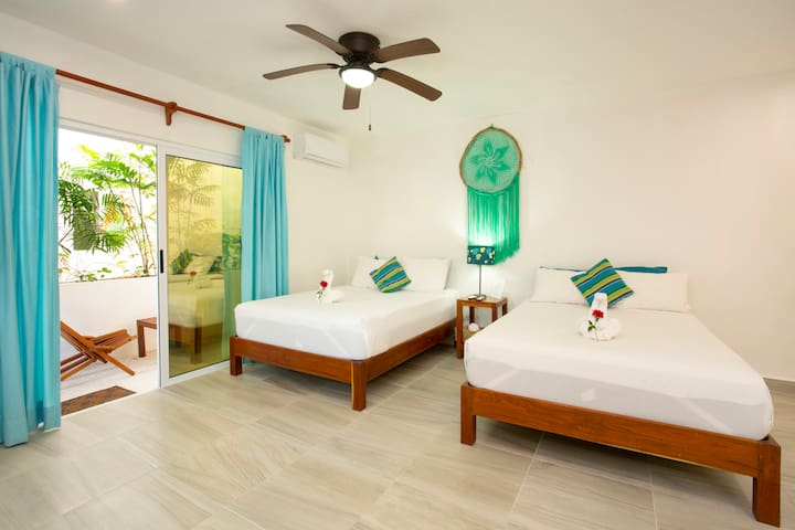 Eco Luxury  Green Suite FREE ACCESS BEACH CLUB