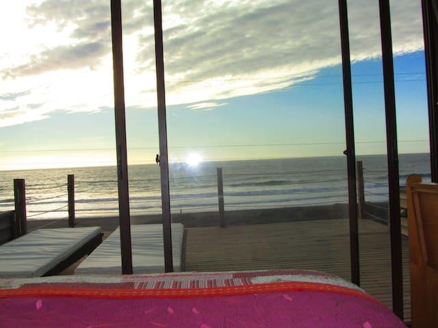 Puertecillo surf beachfront, 1ra línea fte al mar