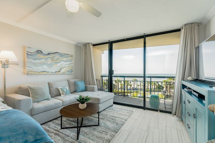 Renovated San Luis Resort condo w/ gulf view & awesome resort pool