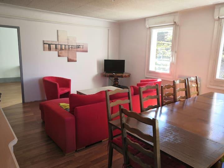 Appartement dans les vosges pour 12 personnes