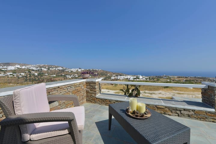 Apartment at Apollonia Sifnos with great view - Apollonia - Casa