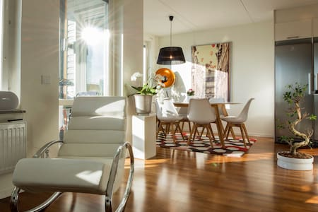 Spacious flat with magnificent view - Stockholm - Wohnung