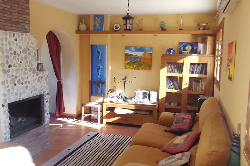 The main living room...