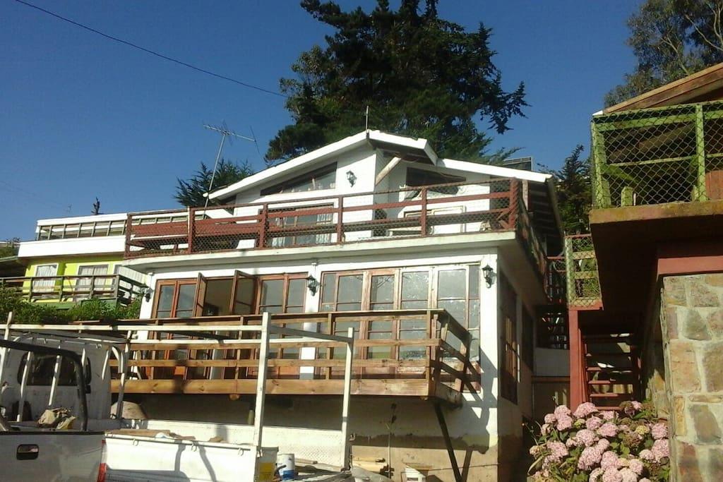 Casa frente a la playa casas en alquiler en santiago for Casas en chile santiago