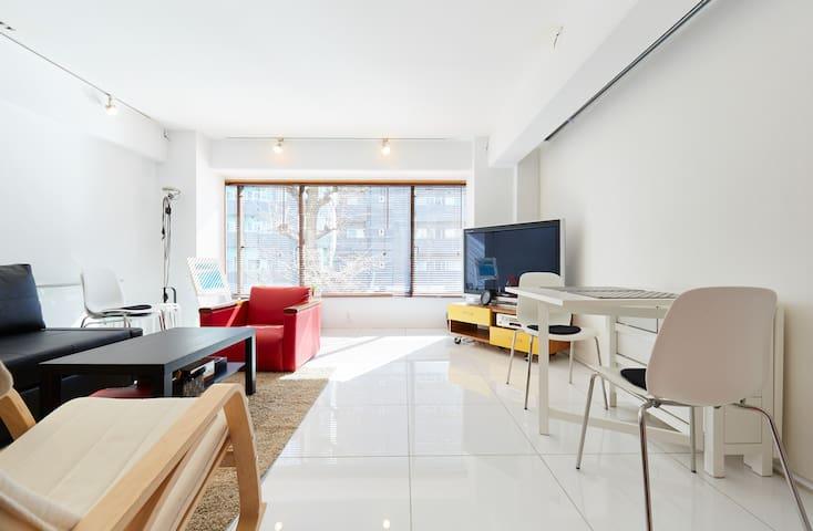 Spacious modern apartment in Meguro - Meguro-ku