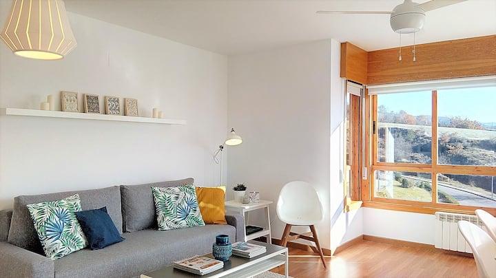 Apartamento Mendilar. Confort y Vistas.
