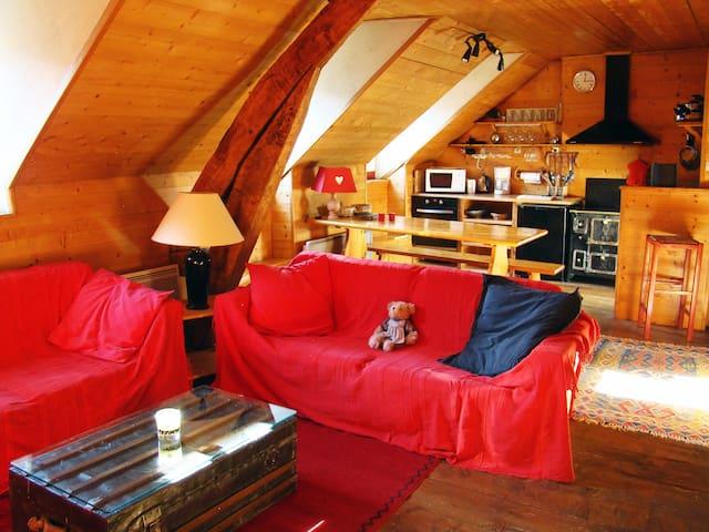 Cosy apartment in the heart of Luz - Luz-Saint-Sauveur - Apartamento