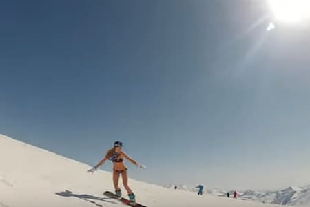 skiing and sunbathing in the mountains. - Gudauri - Hotel boutique