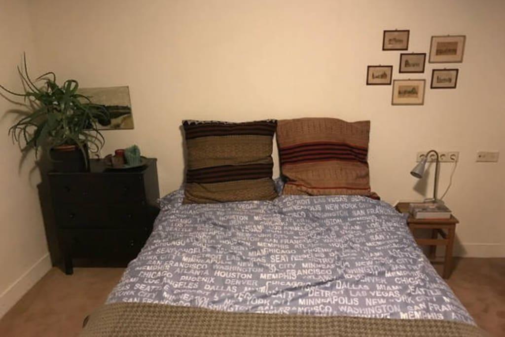 Bedroom 3, 20 m2, souterrain