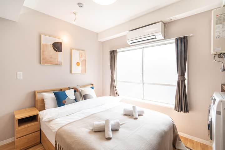New-design cozy room near Asakusa/Skytree 302