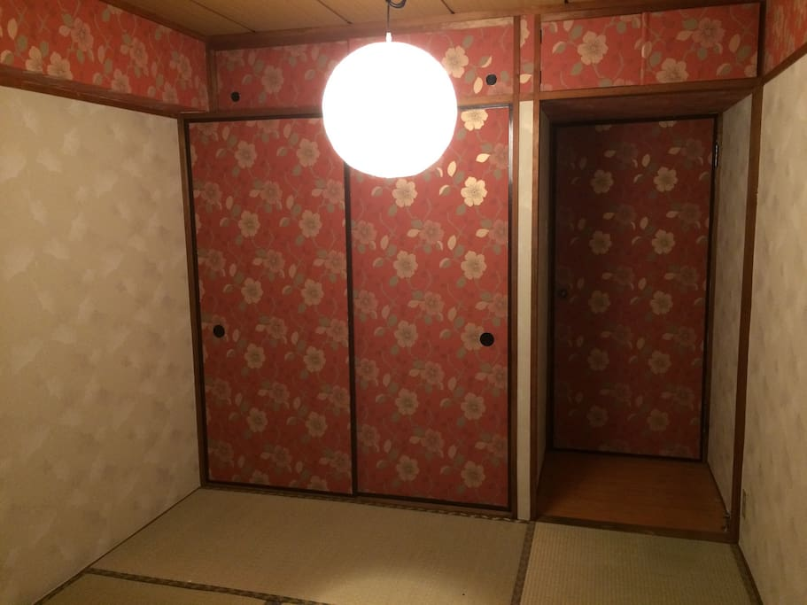 Room B (Japanese Tatami) with 3 Futons