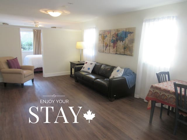 1 Brm Suite near Airport & Skytrain (Vancouver) - Richmond