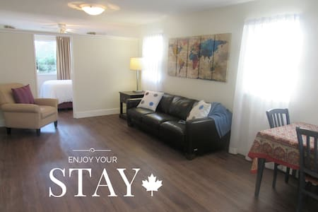 1 Brm Suite near Airport & Skytrain (Vancouver) - Richmond - Wohnung