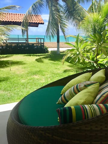 Ipioca Beach Village. Beira-mar. Suíte Jangada