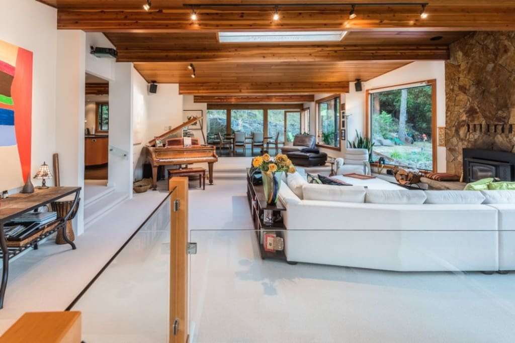 Elegant West Coast Contemporary Design - Not Exactly Roughing It!