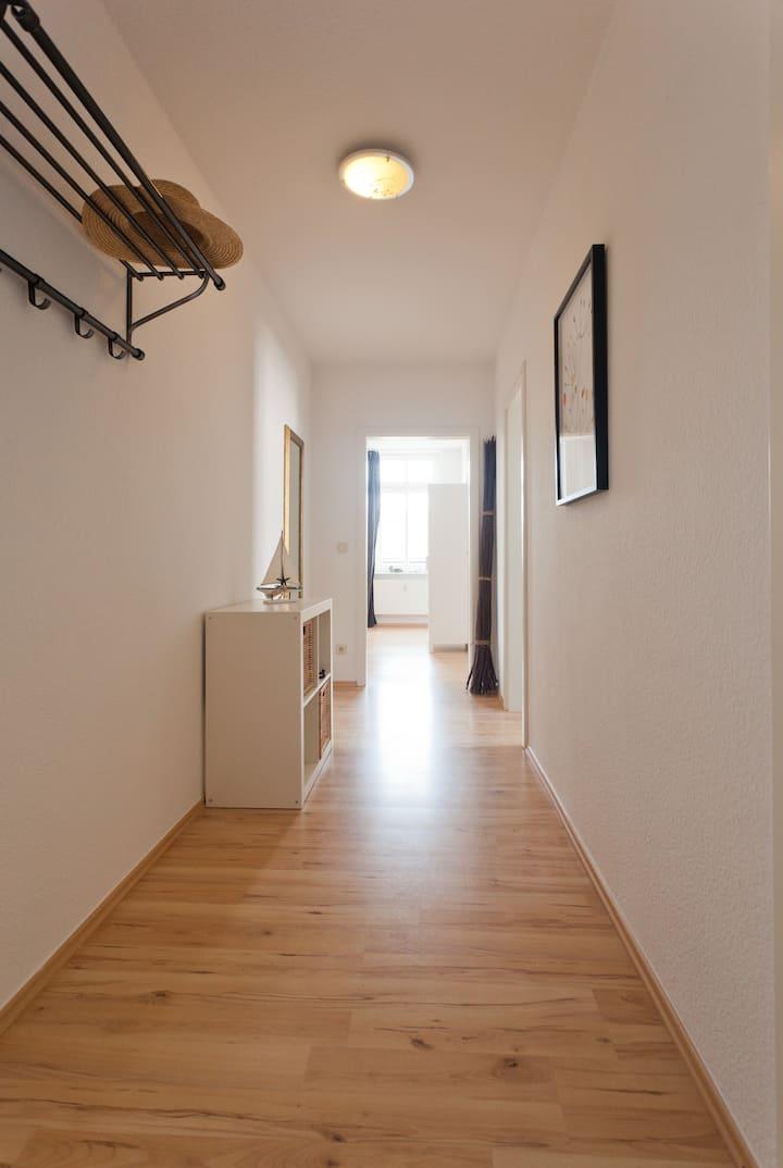 Gemütliche Wohnung für 4 Pers. mit Balkon