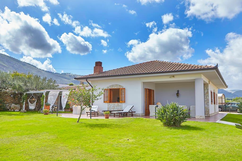 """The main house """"Casa delle Palme"""""""