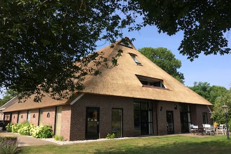 Luxury countryhouse in Diever, up to 30 persons