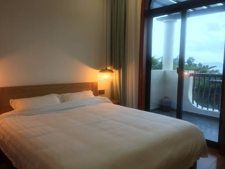 嵊泗·品舍宾馆·海景大床房(基湖沙滩直线150米)