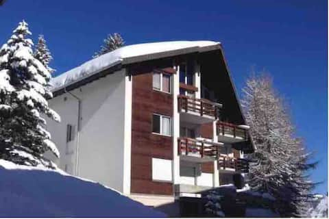 Your home in Mürren with terrace and balcony