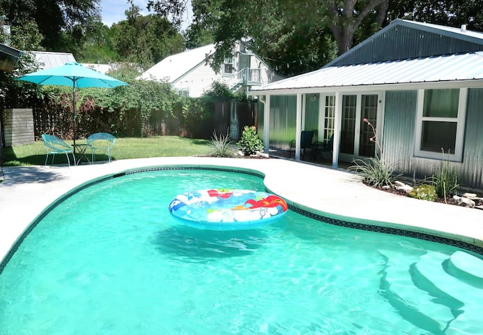 Abby's Guesthouse + Pool - Featured on HGTV