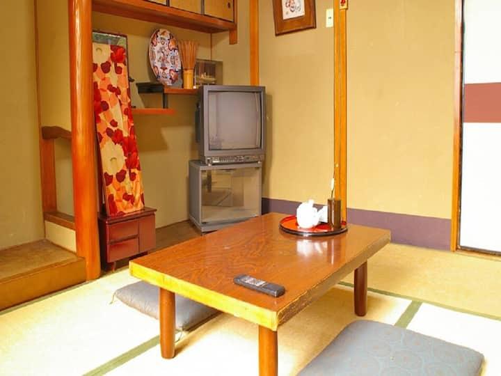 [5mins ->Kyoto Sta.]JPN-Style Single+Shared-Bath