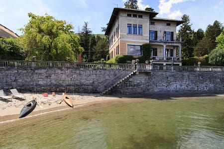 Lakefront villa in village centre - Baveno - วิลล่า