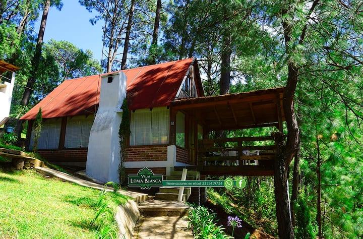 """Cabaña Chica"" en Villas Loma Blanca"