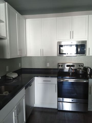 Gorgeous large open kitchen and island (not pictured)