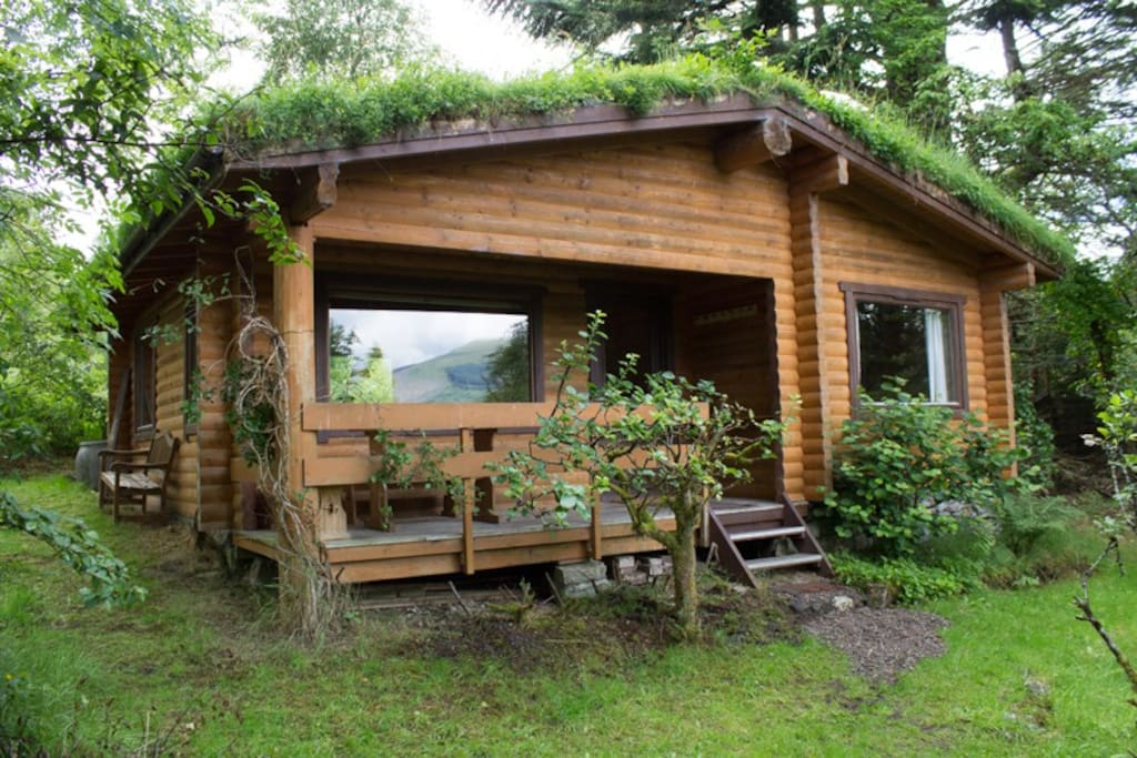The Log Cabin Loch Eil Cabins For Rent In Duisky