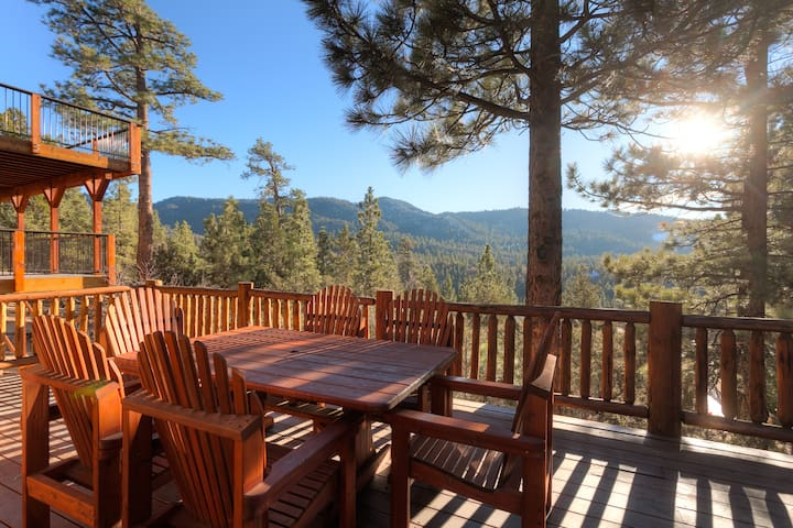 Million Dollar Views, Big Bear Lake Cabin!