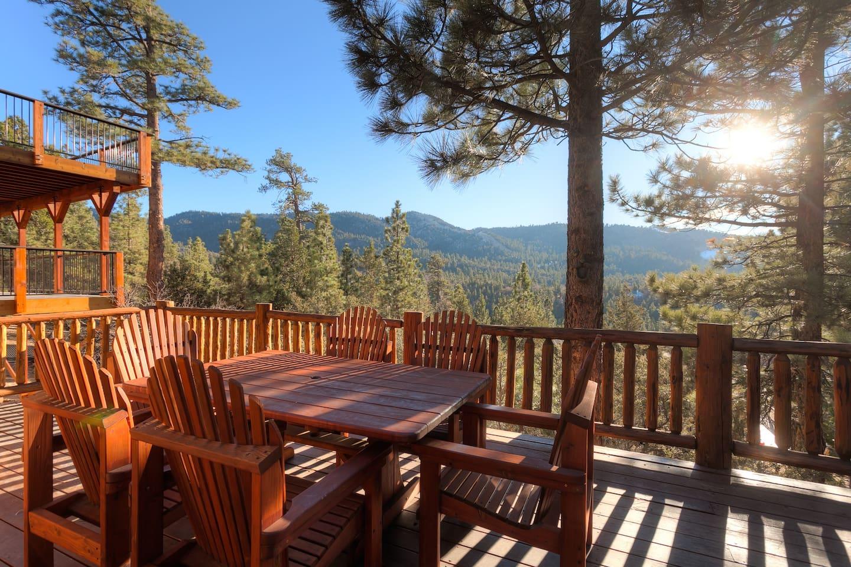 Million Dollar Views, Big Bear Lake Cabin!