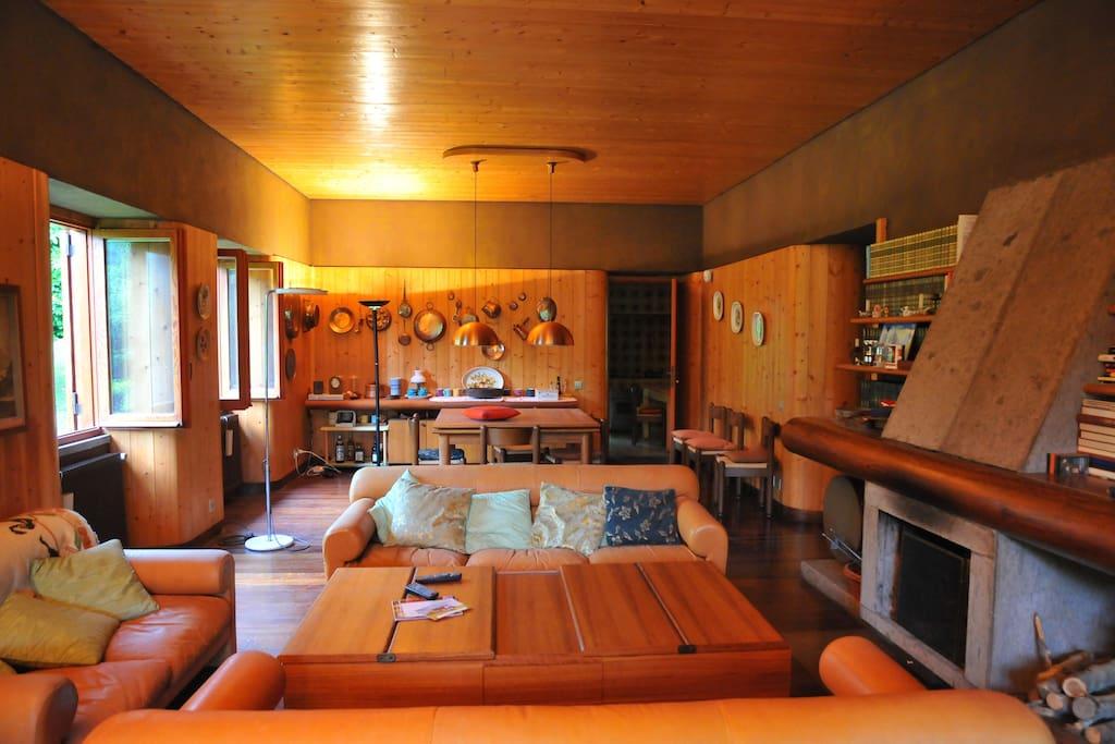 Sala da pranzo/salone 1-Living Room Dining Room