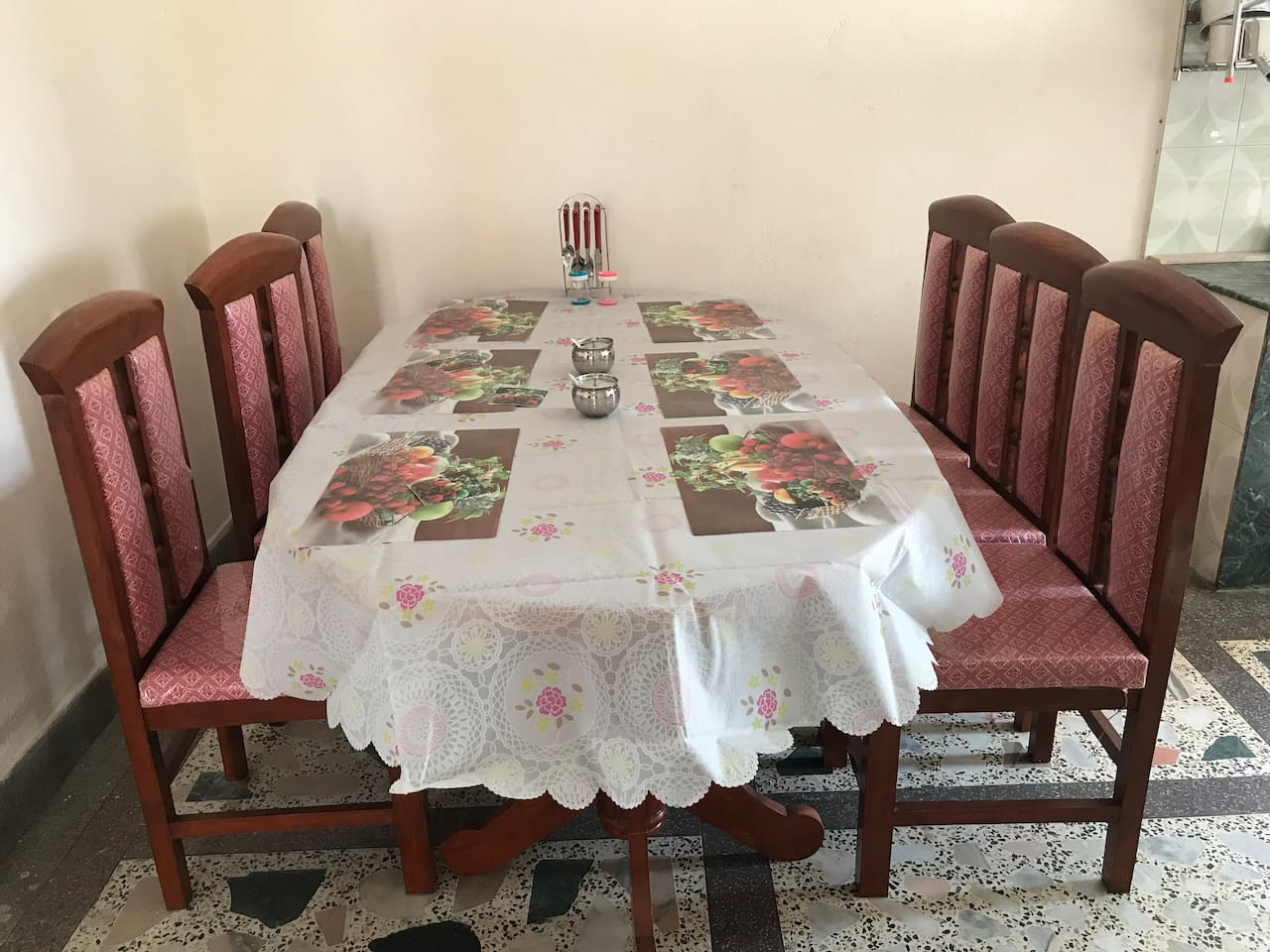 home for peace and quite with local family