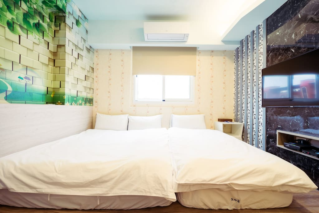 三人房(一雙人床+一單人床) Triple room (one double bed+one single bed)