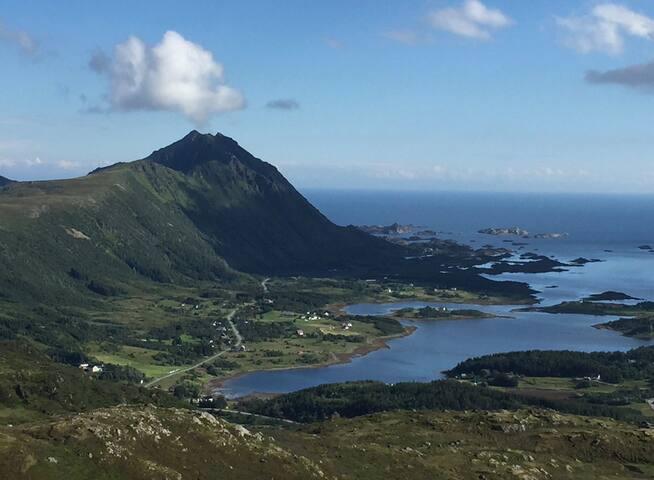 Hytte i vakre Lofoten