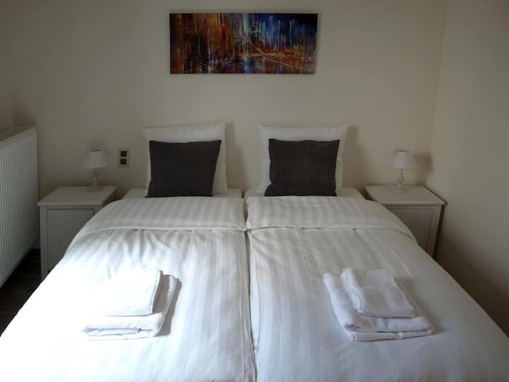 Single room in small family style hotel