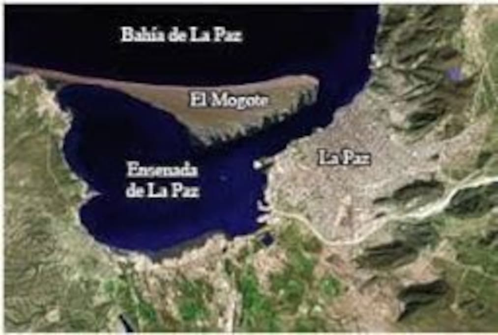 The resort is located on the Island of El Mogote