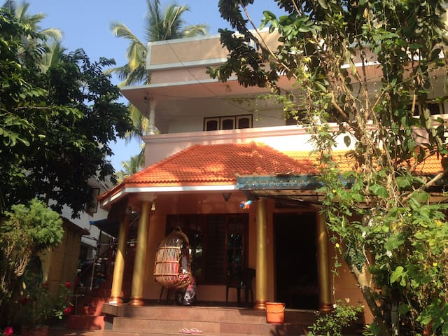 A/c  room (BR2) with a sea view terrace #Kovalam