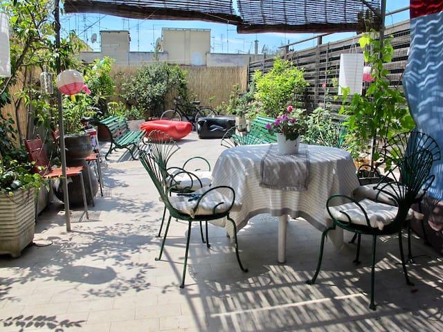 great penthouse testaccio terrace