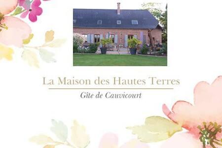 La Maison des Hautes Terres, Gîte  de Cauvicourt