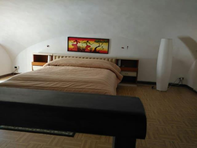 Seconda camera da letto molto suggestiva