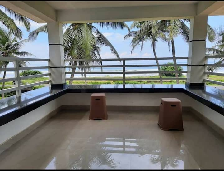 AC Double room with Sea view