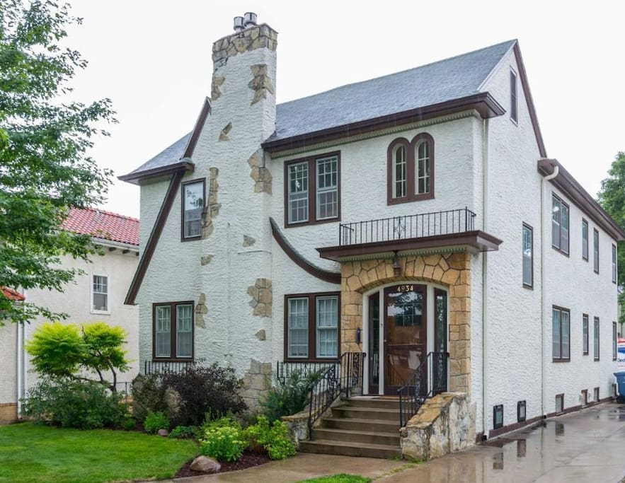 """Lyndale By The Lakes"" - A Stunning Southwest Minneapolis Tudor in the Lynnhurst Neighborhood!"