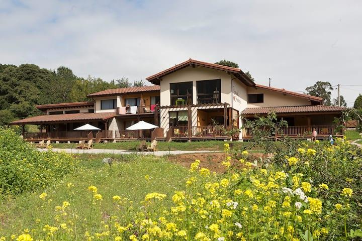 Eco Lodge entre mar y  montañas en Asturias