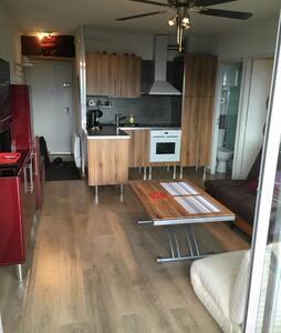 Appart T2 Font-romeu superbe vue montagne - Font-Romeu-Odeillo-Via - Wohnung